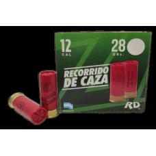 MUNIÇÃO 12 RECORRIDO DE CAZA CAIXA 25 UND.