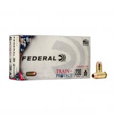 MUNIÇÃO 45 VHP TRAIN PROTECT 230GR (CX50)